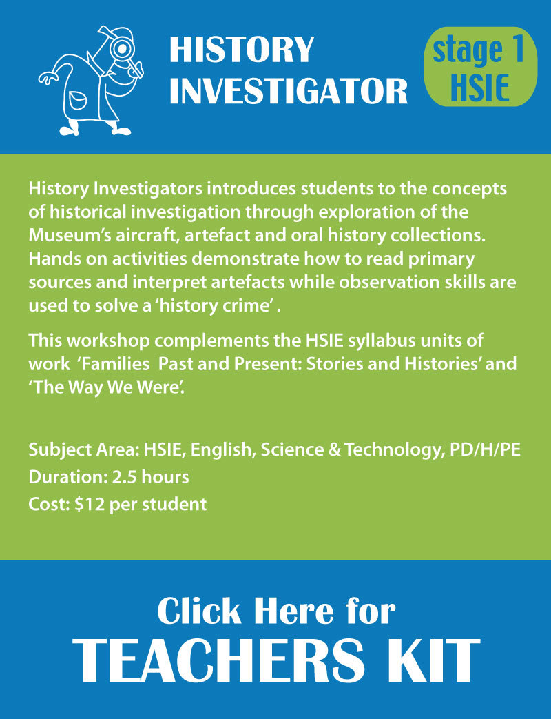 Stage 1 History nvestigator Teachers Resource Kit